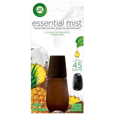 Air Wick Essential Mist Refill - Coconut & Pineapple - 0.67 fl oz