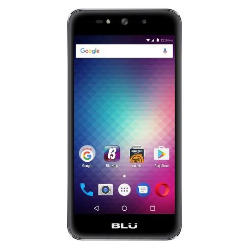 BLU Grand Max G110Q (GSM Unlocked) 8GB Smartphone - Gray - image 1 of 2