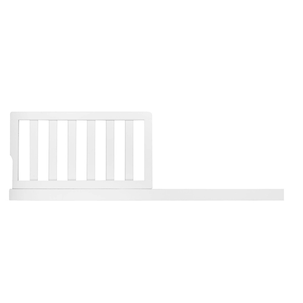 Image of Evolur Aurora Toddler Crib Rail - Frost, White
