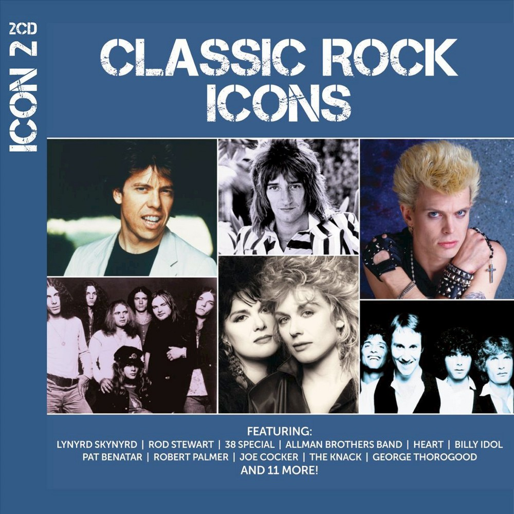 Various - Icon:Classic Rock (CD)