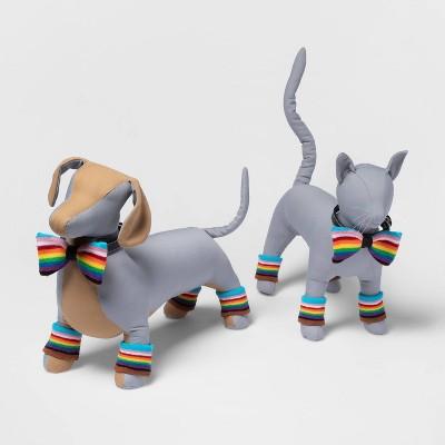Pride Dog and Cat Sweatband Set - 5pk - Boots & Barkley™
