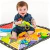 Infantino Twist n' Fold Gym Playmat - Pond Pals - image 3 of 4