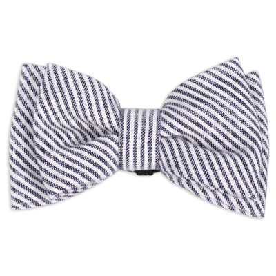 Collar Slide Stripe Bow Tie Dog Accessories - M/L - Boots & Barkley™