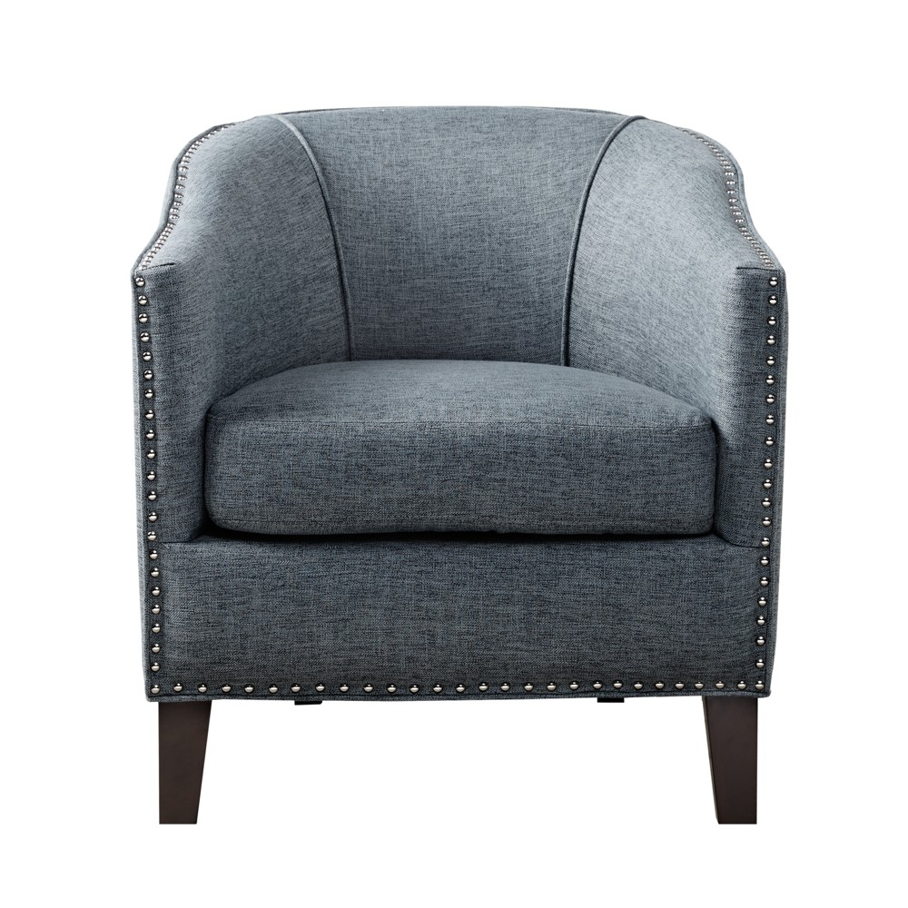 Ashton Barrel Arm Chair Slate Blue