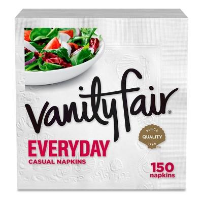 Vanity Fair Everyday 2-Ply Paper Napkins - 150ct
