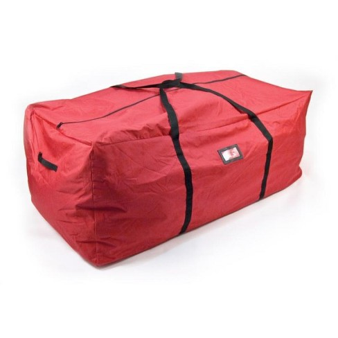 """Northlight 40"""" Red and Black Multiuse Large Christmas Storage Bag - image 1 of 2"""