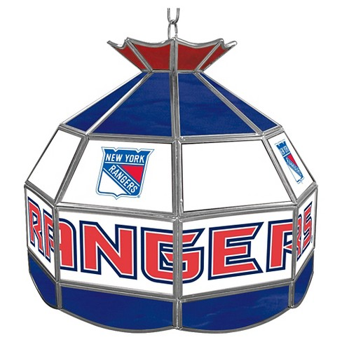 New York Rangers Stained Glass Tiffany Lamp - 16 inch - image 1 of 1