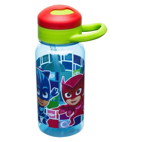 PJ Masks Entertainment One 14oz Plastic Water Bottle Blue/Red/Green - image 1 of 2