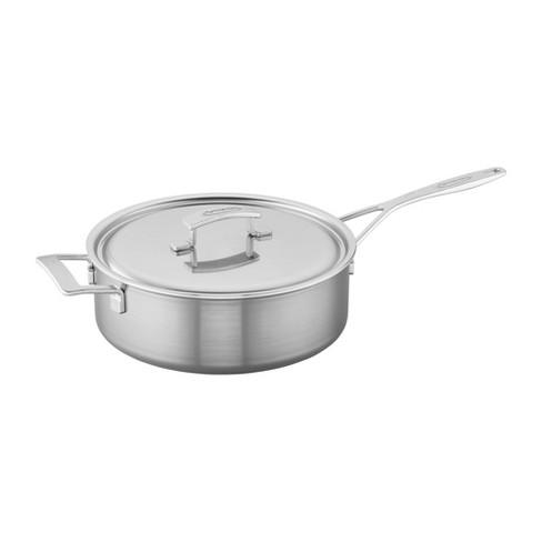 Demeyere Industry 5-Ply Stainless Steel Saute Pan - image 1 of 4
