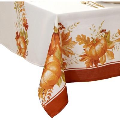 Autumn Pumpkin Grove Fall  Tablecloth - Elrene Home Fashions