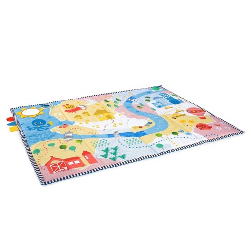 Baby Einstein Sea & City Sensory Playscape Plush Activity Mat - image 1 of 4