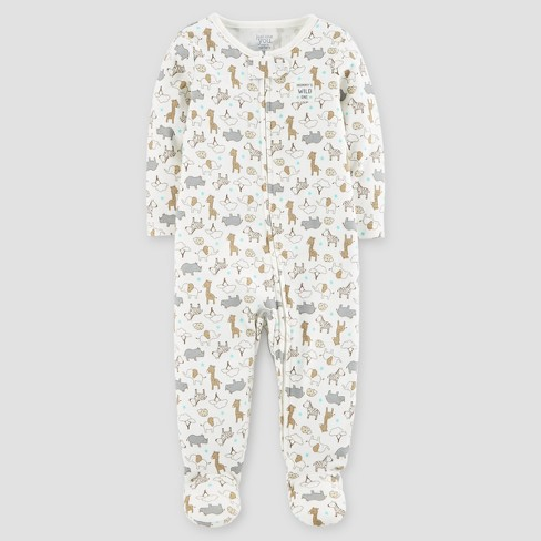 Baby Cotton Safari Mommy's Wild One Sleep N' Play - Just One You® made by carter's Cream - image 1 of 1