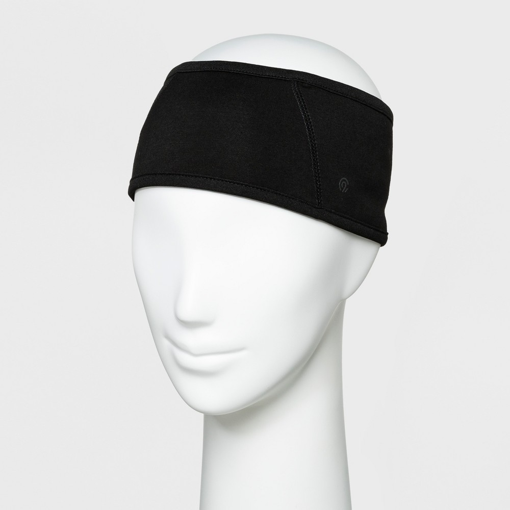 Women's Jersey Velour Outwear Headband - C9 Champion Black