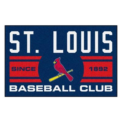 "MLB St. Louis Cardinals 19""x30"" Uniform Rug"