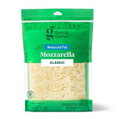 Shredded Reduced Fat Mozzarella Cheese - 7oz - Good & Gather™