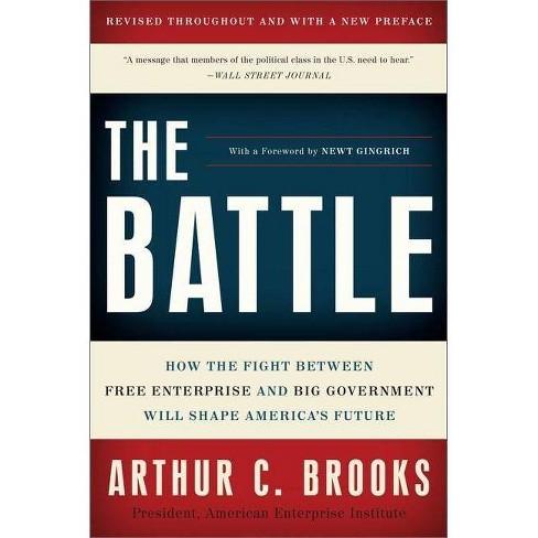 The Battle - by  Arthur C Brooks (Paperback) - image 1 of 1