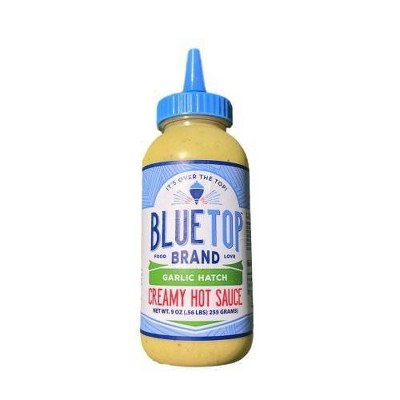 Blue Top Brand Garlic Hatch Creamy Hot Sauce - 9oz