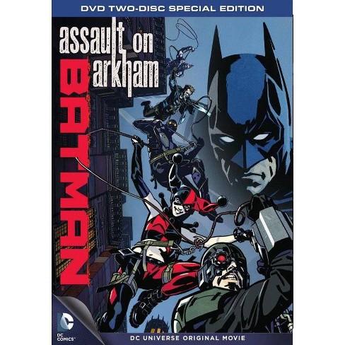 Batman Assault On Arkham Dvd Target