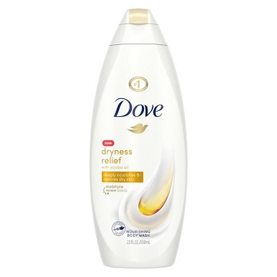 Dove Dryness Relief with Jojoba Oil Body Wash Soap - 22  fl oz