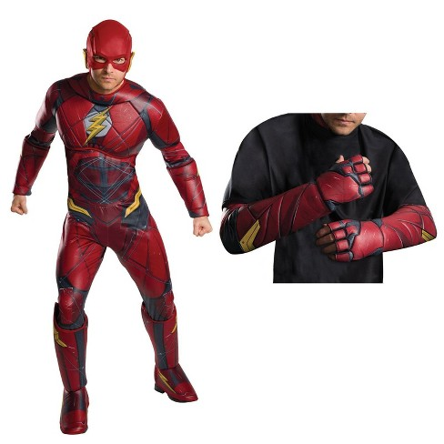 Men's Justice League Movie - The Flash Deluxe Costume Kit - image 1 of 1
