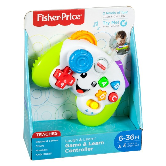 Fisher-Price Laugh and Learn Game and Learn Controller image number null