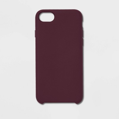 heyday™ Apple iPhone Silicone Case - Mulberry Purple