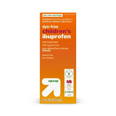 Pain Relievers: up & up Children's Ibuprofen