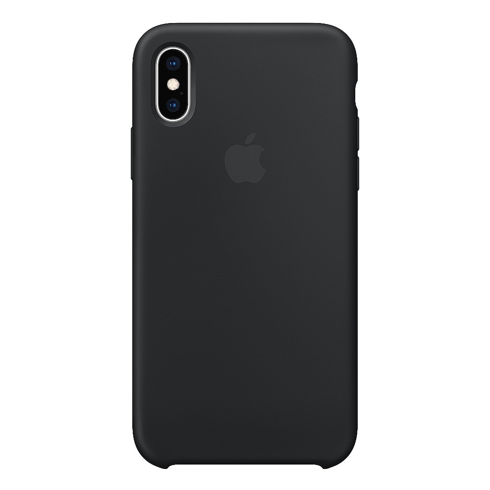 Apple iPhone X/XS Silicone Case - Black