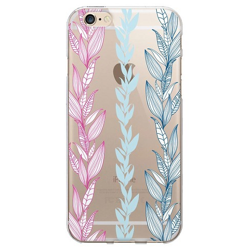 iPhone 6/6S Case - OTM Floral Prints Clear - Seaweed - image 1 of 1