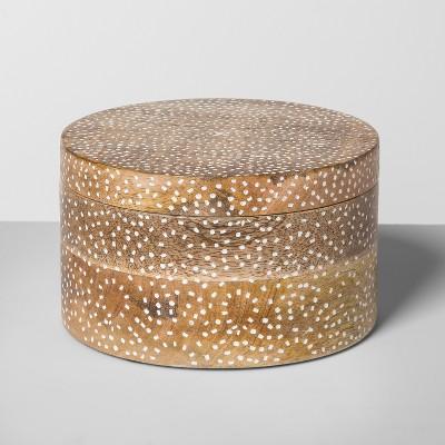 Carved Mango Wood Box - Opalhouse™