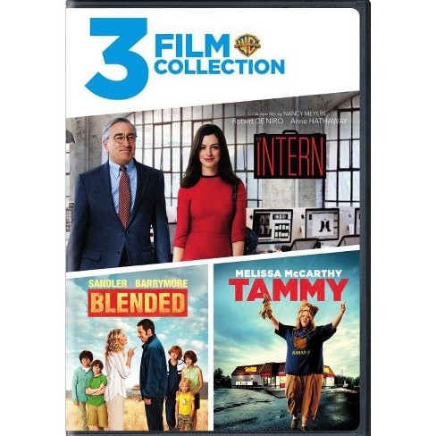 3 Film Collection: The Intern / Tammy / Blended (DVD)