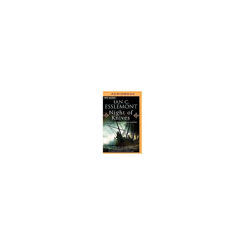 Night of Knives (Unabridged) (MP3-CD) (Ian C. Esslemont)