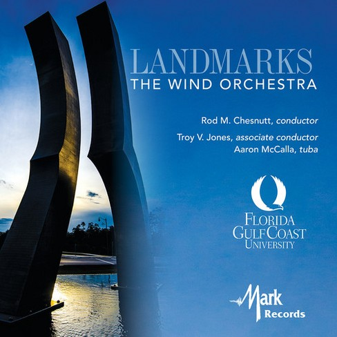 Troy V. Jones - Landmarks (CD) - image 1 of 1