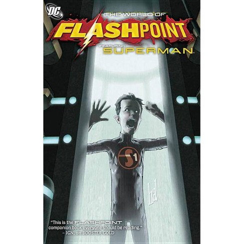 The World of Flashpoint Featuring Superman - (Superman (DC Comics)) by  Mike Carlin (Paperback) - image 1 of 1