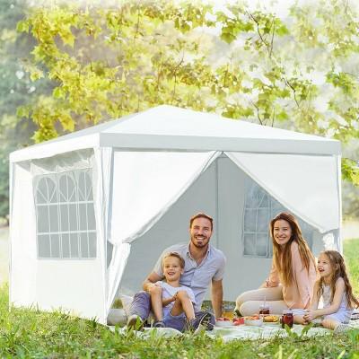 Outdoor 10'x10' Heavy Duty Wedding Party Tent Canopy