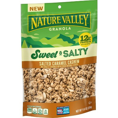 Nature Valley Sweet and Salty Salted Caramel Cashew Granola - 11oz