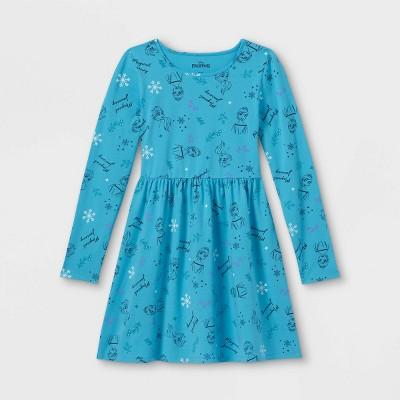 Girls' Disney Frozen Dress - Teal