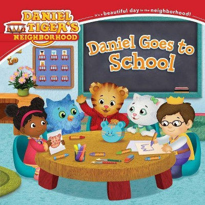 Daniel Tiger Goes to School Juvenile Fiction - by Becky Friedmen (Paperback)