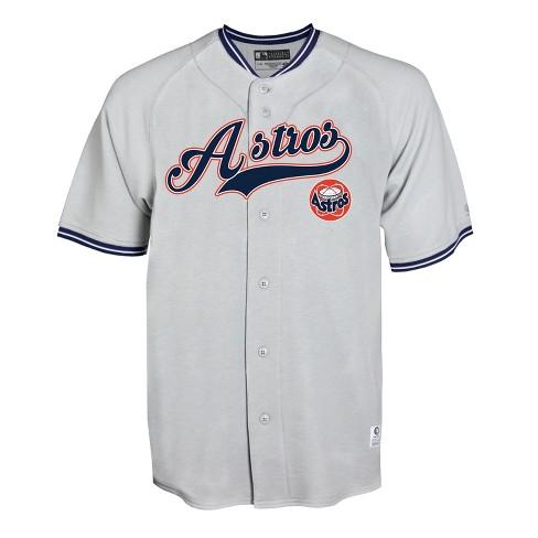 on sale c1a9d 4f77c MLB Houston Astros Gray Retro Team Jersey