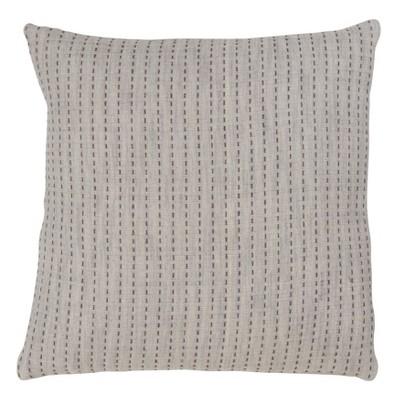 Stripe Oversize Square Throw Pillow Tan - Saro Lifestyle
