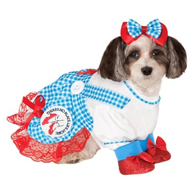 Wizard of Oz Dorothy Dog and Cat Costume - S