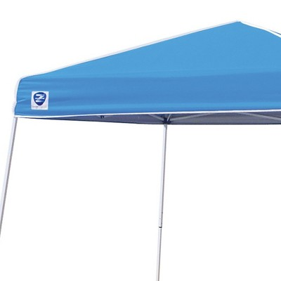Z-Shade 10u0027 X 10u0027 Angled Leg Instant Canopy Tent Portable Shelter Carolina Blue  Target  sc 1 st  Target : canopy tent 10 x 10 - afamca.org