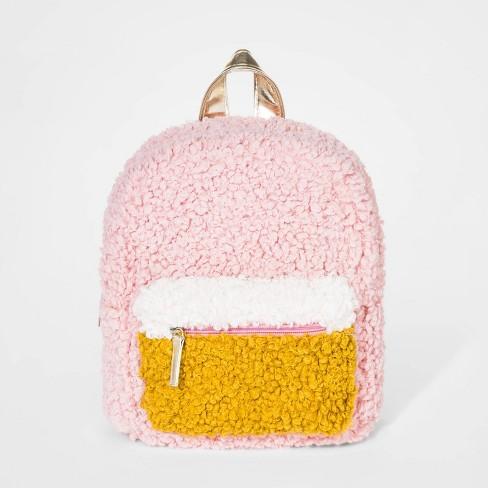 Toddler Girls' Sherpa Backpack - Cat & Jack™ - image 1 of 2