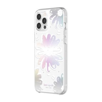 Kate Spade New York iPhone 12 Pro Max MagSafe Protective Hardshell Case - Daisy Iridescent
