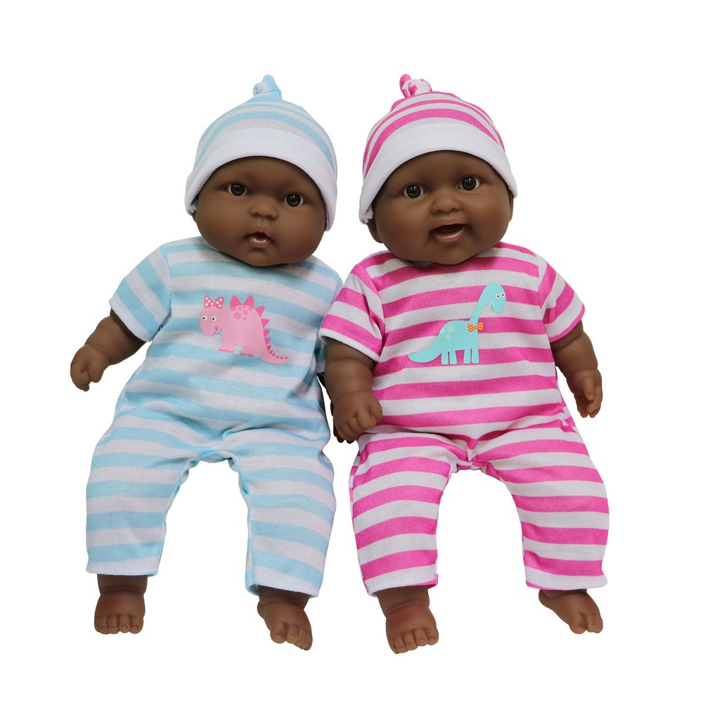JC Toys Lots to Cuddle Babies Soft Body 13 Baby Doll Twin Set, Pink & Blue JC Toys Lots to Cuddle Babies Soft Body 13 Baby Doll Twin Set Color: Pink & Blue. Gender: Unisex.