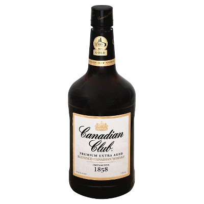 Canadian Club Canadian Whisky - 1.75L Bottle
