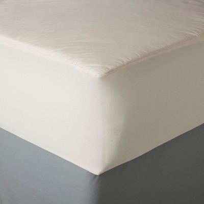 Organic Cotton Cover Allergy Protection Mattress Pad - AllerEase