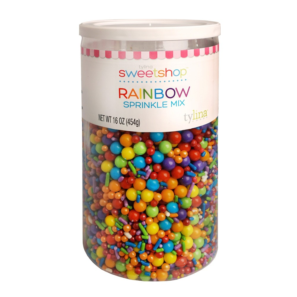 Sweetshop Rainbow Birthday Jar Sprinkle Mix - 16oz
