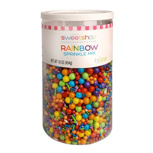 Sweetshop Rainbow Birthday Jar Sprinkle Mix - 16oz - image 1 of 2