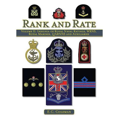 Rank and Rate, Volume 2 - by  E C Coleman (Hardcover) - image 1 of 1